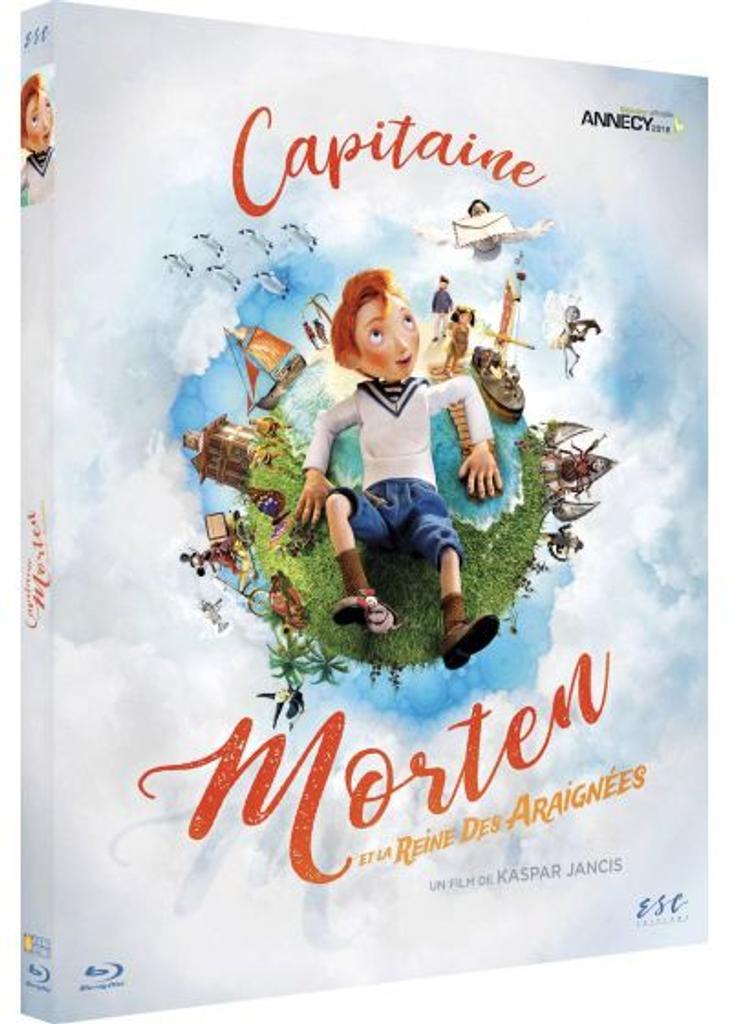 Capitaine Morten et la reine des araignées / un film de Kaspar Jancis, Henry Nicholson et Riho Unt  