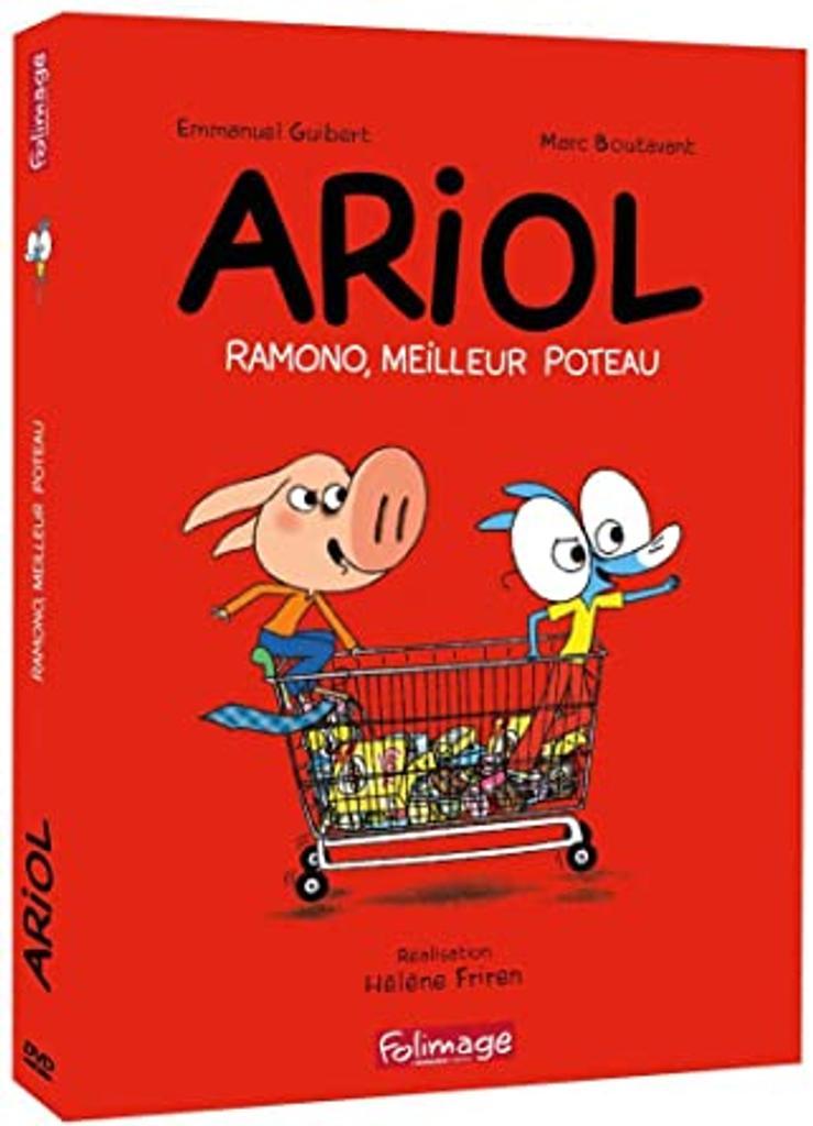 Ariol. Saison 2, Vol. 4, Ramono, meilleur poteau / une série de Hélène Friren  
