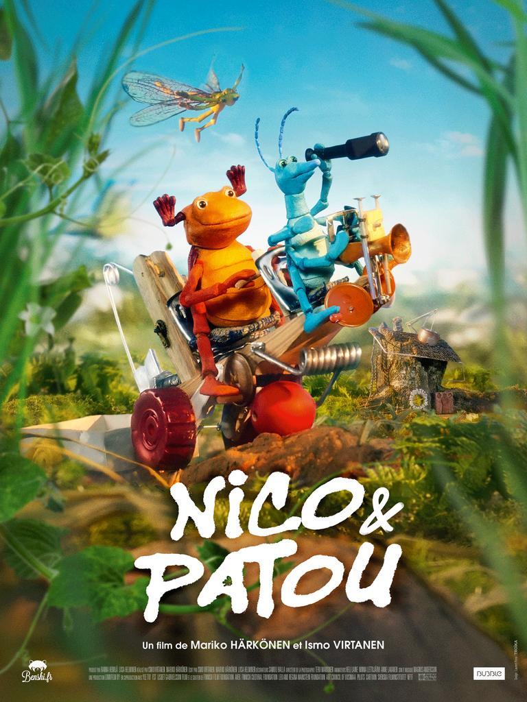Nico et Patou / un film de Mariko Härkönen et Ismo Virtanen  