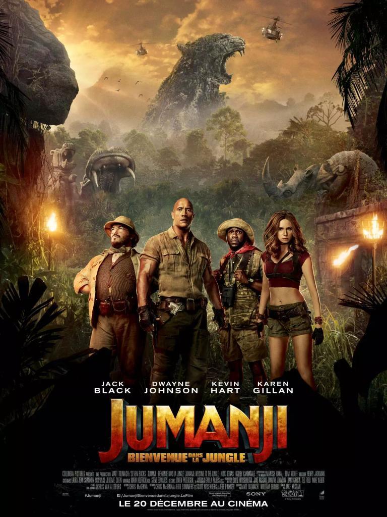 Jumanji - Bienvenue dans la jungle / Jake Kasdan, real. |