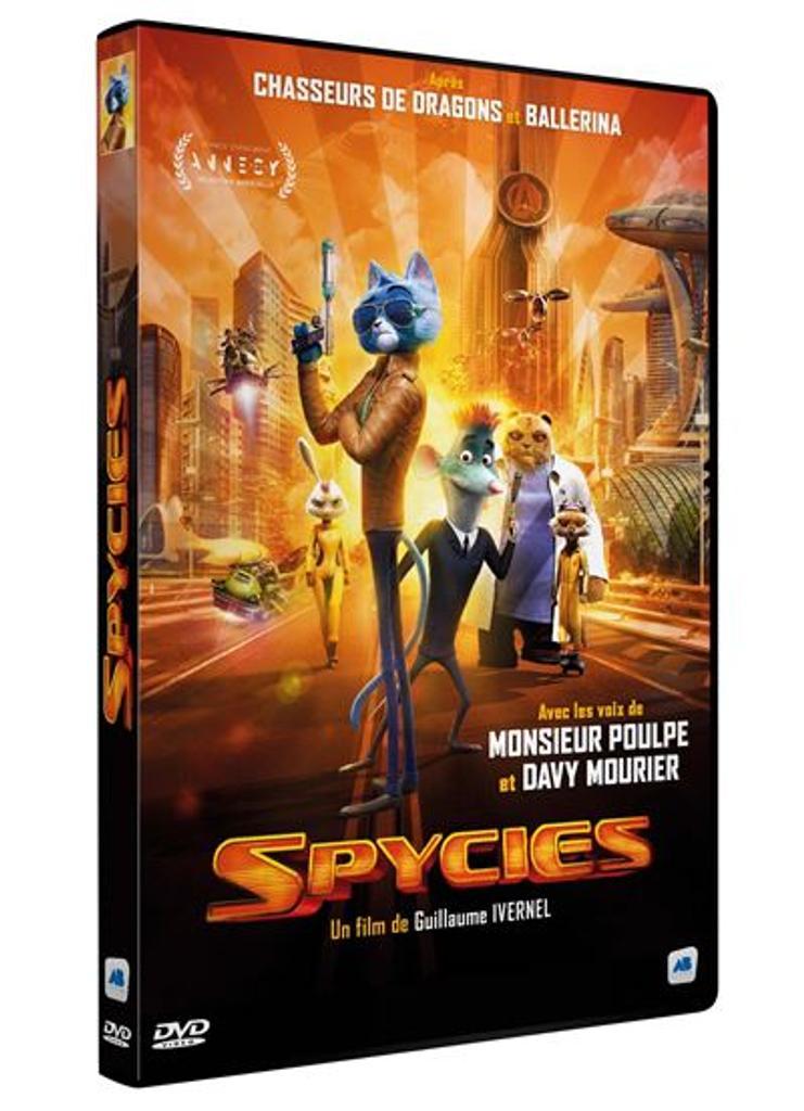 Spycies / un film de Guillaume Ivernel et Zhang Zhiyi |